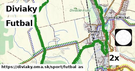 futbal v Diviaky