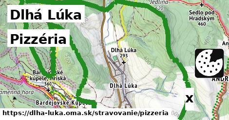 pizzéria v Dlhá Lúka