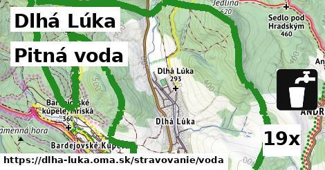 pitná voda v Dlhá Lúka