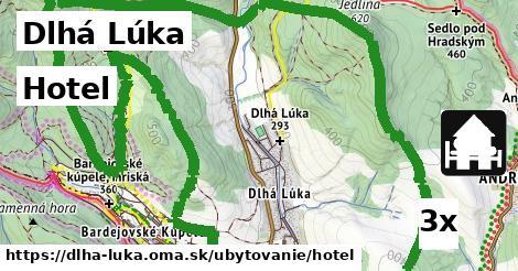 hotel v Dlhá Lúka