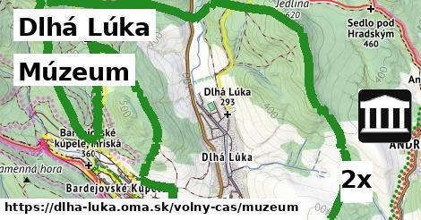 múzeum v Dlhá Lúka