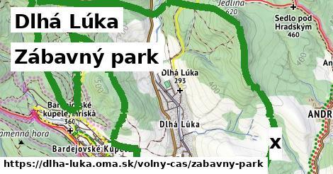 zábavný park v Dlhá Lúka
