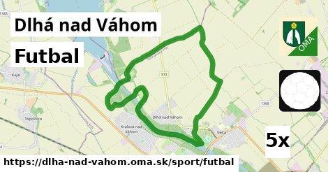 futbal v Dlhá nad Váhom