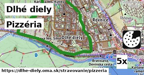 pizzéria v Dlhé diely