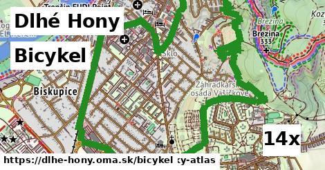 bicykel v Dlhé Hony