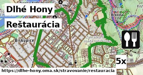 reštaurácia v Dlhé Hony
