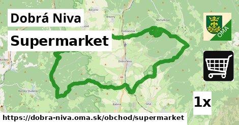 ilustračný obrázok k Supermarket, Dobrá Niva