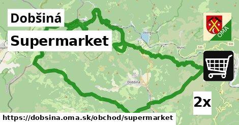 supermarket v Dobšiná