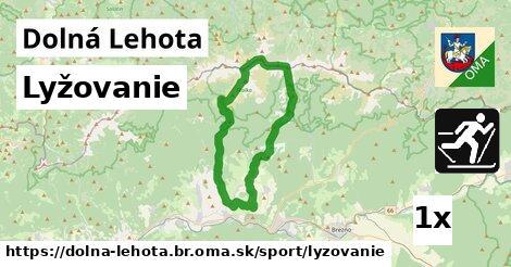 lyžovanie v Dolná Lehota, okres Brezno