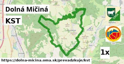 ilustračný obrázok k KST, Dolná Mičiná