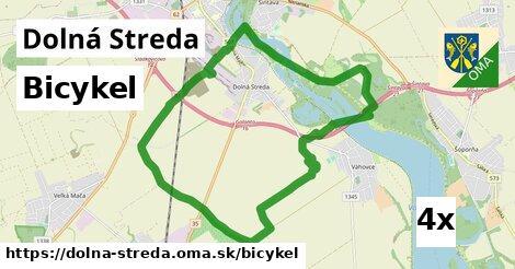 bicykel v Dolná Streda
