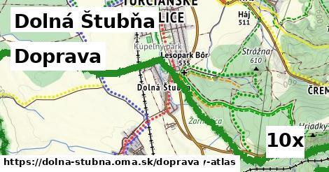 doprava v Dolná Štubňa