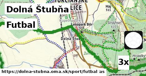 futbal v Dolná Štubňa