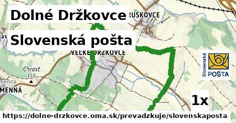 ilustračný obrázok k Slovenská pošta, Dolné Držkovce