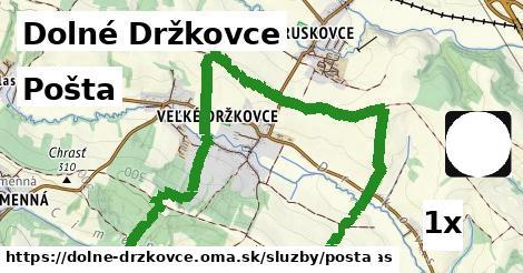 ilustračný obrázok k Pošta, Dolné Držkovce