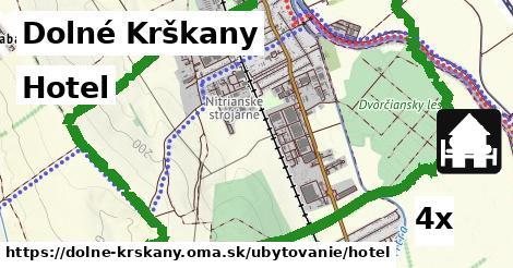 hotel v Dolné Krškany