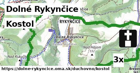 ilustračný obrázok k Kostol, Dolné Rykynčice