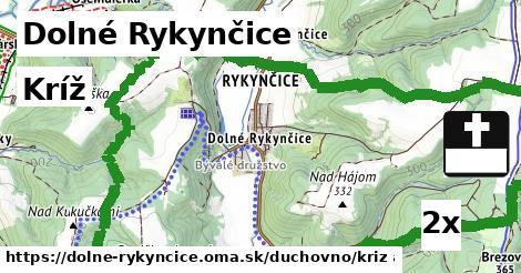 ilustračný obrázok k Kríž, Dolné Rykynčice