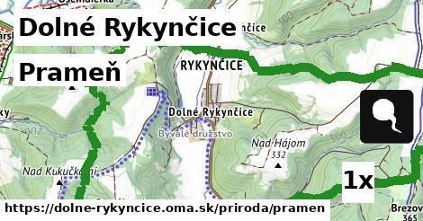 ilustračný obrázok k Prameň, Dolné Rykynčice
