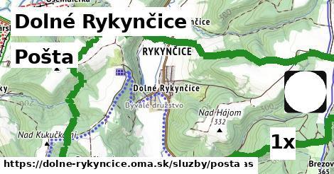ilustračný obrázok k Pošta, Dolné Rykynčice