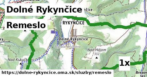 ilustračný obrázok k Remeslo, Dolné Rykynčice