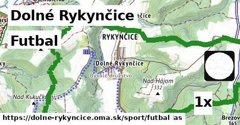 ilustračný obrázok k Futbal, Dolné Rykynčice