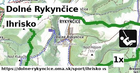 ihrisko v Dolné Rykynčice