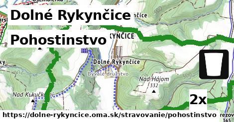 pohostinstvo v Dolné Rykynčice