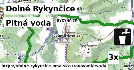 pitná voda v Dolné Rykynčice