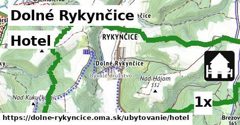 hotel v Dolné Rykynčice