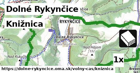 ilustračný obrázok k Knižnica, Dolné Rykynčice