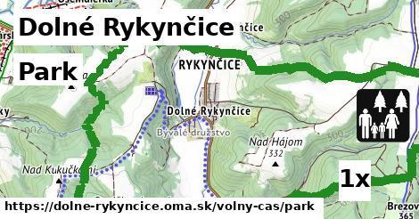 park v Dolné Rykynčice