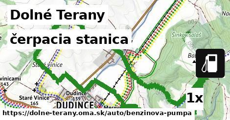čerpacia stanica v Dolné Terany