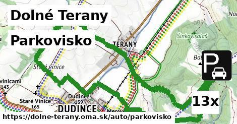 parkovisko v Dolné Terany