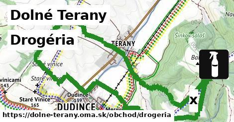 ilustračný obrázok k Drogéria, Dolné Terany