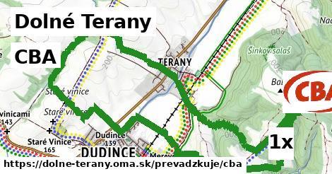 CBA v Dolné Terany