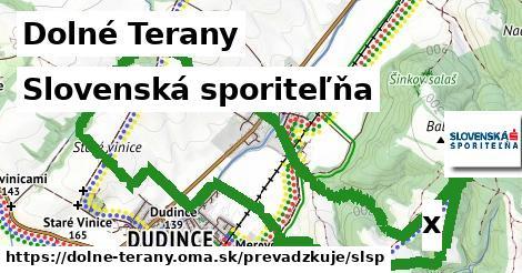 ilustračný obrázok k Slovenská sporiteľňa, Dolné Terany