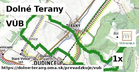 VÚB v Dolné Terany