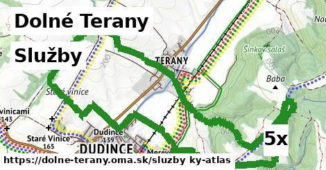 služby v Dolné Terany