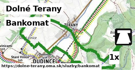 ilustračný obrázok k Bankomat, Dolné Terany
