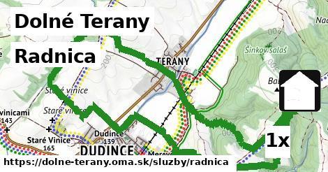 radnica v Dolné Terany