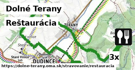 reštaurácia v Dolné Terany