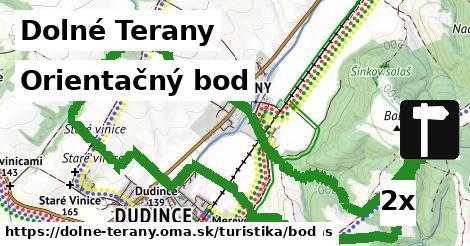 orientačný bod v Dolné Terany