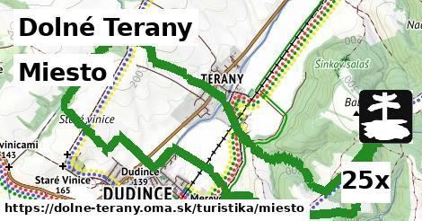 miesto v Dolné Terany