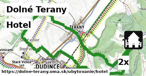 ilustračný obrázok k Hotel, Dolné Terany
