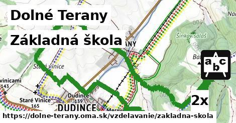 základná škola v Dolné Terany