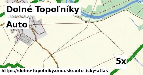 auto v Dolné Topoľníky