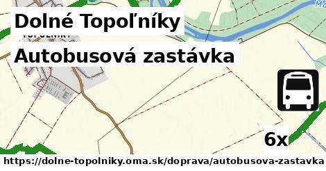 ilustračný obrázok k Autobusová zastávka, Dolné Topoľníky