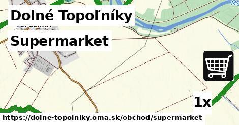 ilustračný obrázok k Supermarket, Dolné Topoľníky