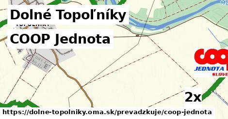 COOP Jednota v Dolné Topoľníky